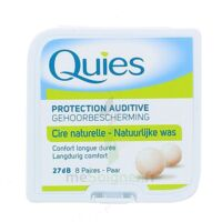 QUIES PROTECTION AUDITIVE CIRE NATURELLE 8 PAIRES à NOYON