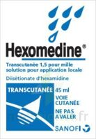 HEXOMEDINE TRANSCUTANEE 1,5 POUR MILLE, solution pour application locale à NOYON
