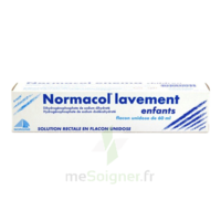 NORMACOL LAVEMENT ENFANTS, solution rectale, récipient unidose à NOYON