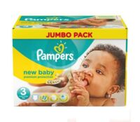 PAMPERS COUCHES NEW BABY 5-9KG 99 COUCHES à NOYON