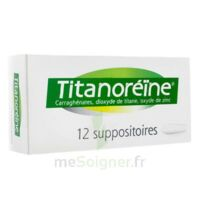 TITANOREINE Suppositoires B/12 à NOYON