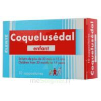 COQUELUSEDAL ENFANTS, suppositoire à NOYON