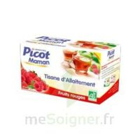 Picot Maman Tisane d'allaitement Fruits rouges 20 Sachets à NOYON