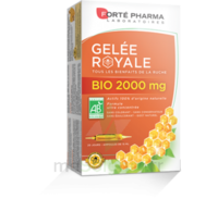 Forte Pharma Gelée royale bio 2000 mg Solution buvable 20 Ampoules/15ml à NOYON