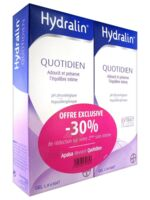 Hydralin Quotidien Gel lavant usage intime 2*200ml à NOYON