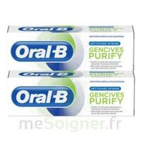 Oral B Gencives Purify Dentifrice 2*T/75ml à NOYON