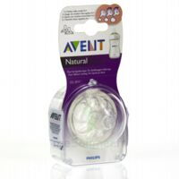TETINE AVENT NATURAL DEBIT VARIABLE x 2 à NOYON